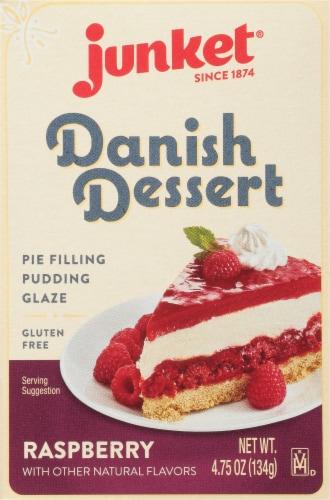 Junket Junket Raspberry Danish Dessert Perspective: front