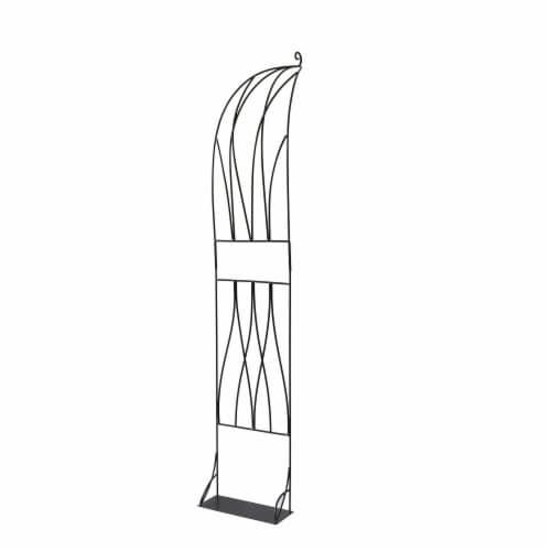 Slimline Arch HalfTrellis Perspective: front