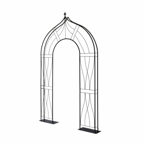 Slimline Arch FlatTrellis Perspective: front