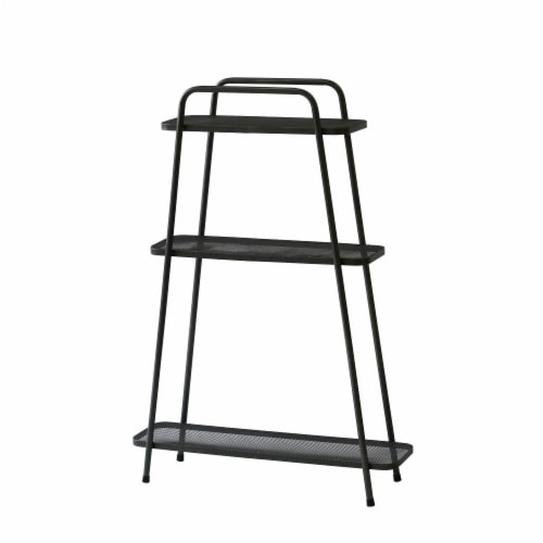 Modern Plant Stand 3 Shelf Perspective: front