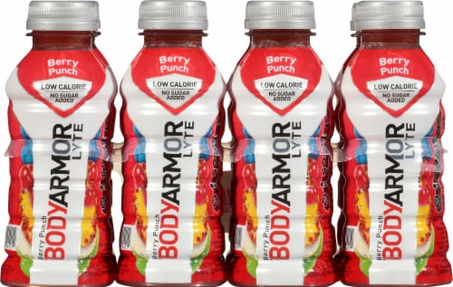 BODYARMOR Berry Punch Lyte Sports Drink Perspective: front