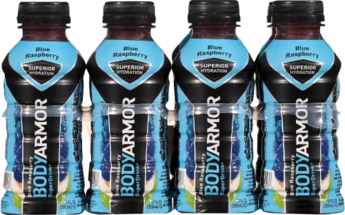BODYARMOR Blue Raspberry Sports Drink Perspective: front