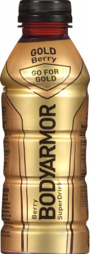 BODYARMOR Gold Berry Sports Drink Perspective: front