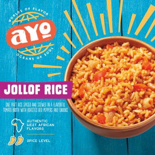 AYO Foods Jollof Rice Perspective: front