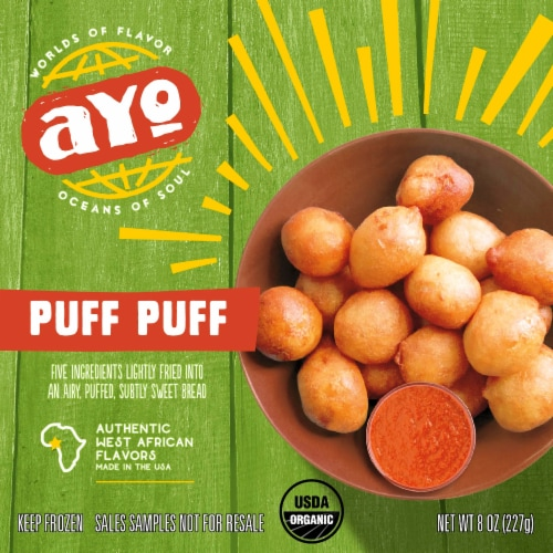 AYO Foods Puff Puff Perspective: front
