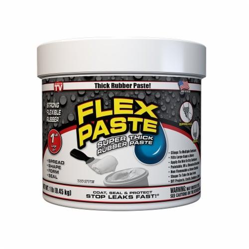 Flex Paste Super Thick Rubber Paste - White Perspective: front
