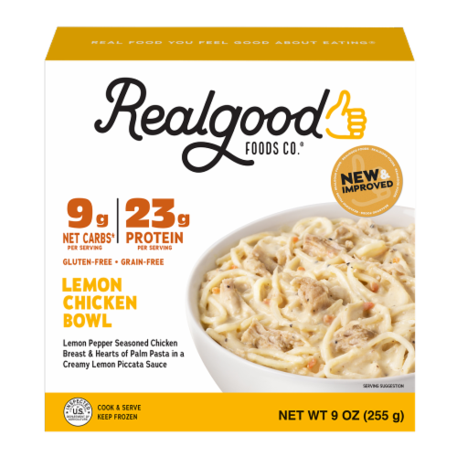 Realgood Lemon Chicken Bowl Perspective: front