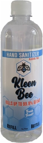 Kleen Bee Fresh Scent Hand Sanitizer Refill Perspective: front