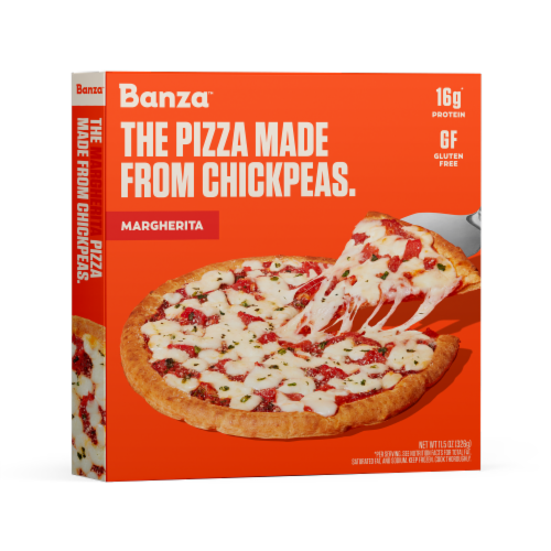 Banza™ Chickpea Margherita Pizza Perspective: front