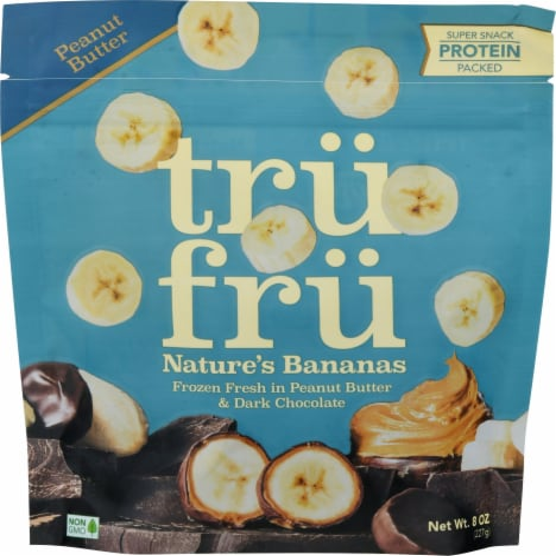 Tru Fru Nature's Bananas in Peanut Butter & Dark Chocolate Perspective: front