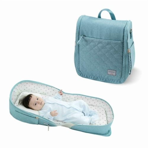 Portable Folding Baby Bassinet Perspective: front