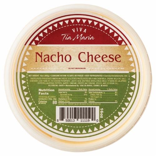 Tia Maria Nacho Cheese Dip Perspective: front