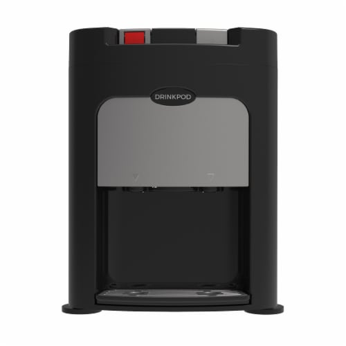 Drinkpod Elite Bottleless Hot and Cold Water Cooler Dispenser with 3 Stage Purification Perspective: front
