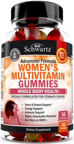 BioSchwartz Women's Multivitamin Gummies Perspective: front