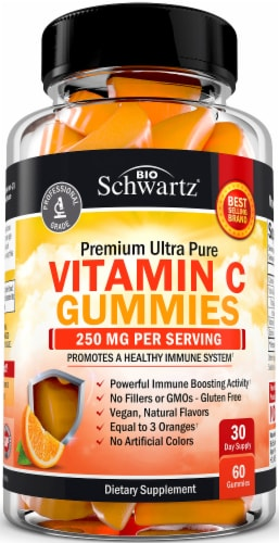 BioSchwartz Vitamin C Gummies Perspective: front