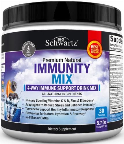 BioSchwartz 4-Way Immunity Support Drink Mix Perspective: front