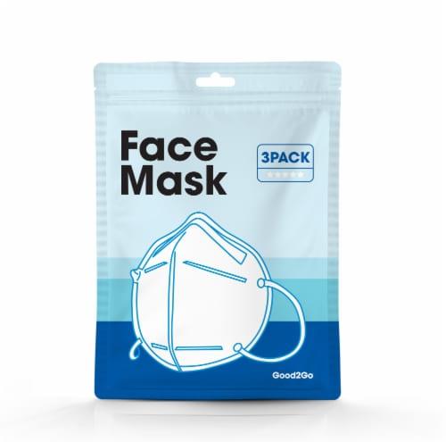 Blue Widget Dust Mask Perspective: front