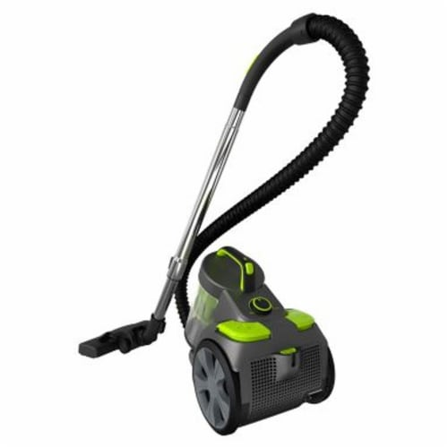 Black and Decker BDCAV217 1200A Bagless Canister Vacuum Cleaner w/ HEPA Filter Perspective: front