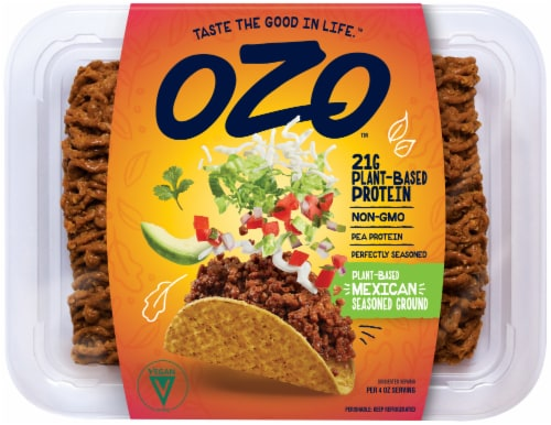 OZO Plant Based Protein Mexican Seasoned Ground Perspective: front