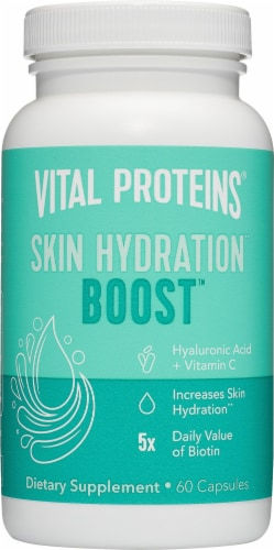 Vital Proteins Skin Hydration Boost Capsules Perspective: front