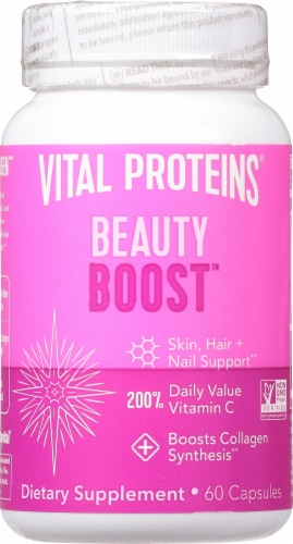 Vital Proteins Beauty Boost Capsules Perspective: front