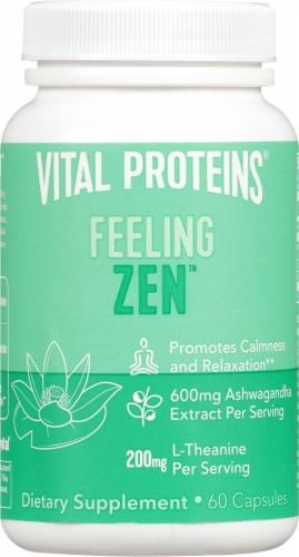 Vital Proteins Feeling Zen Capsules Perspective: front