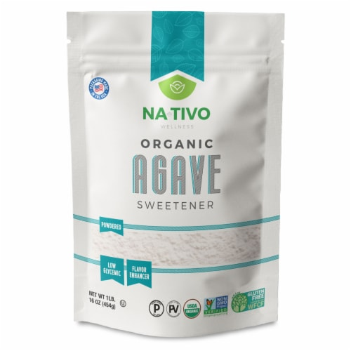Nativo Organic Sweet Agave Powder Sweetener Perspective: front