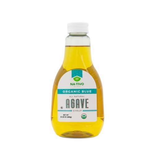 Nativo Organic Agave LiteBlue Sweetener Perspective: front