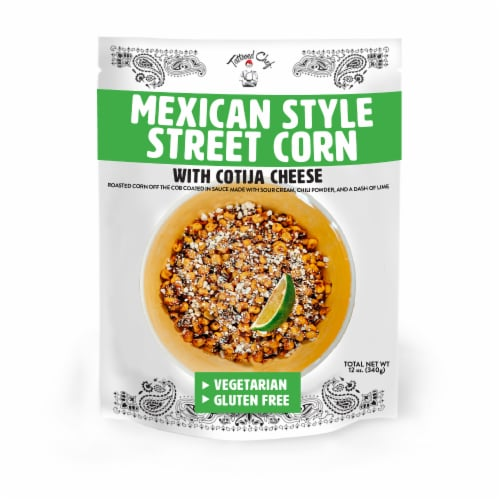 Tattooed Chef Mexican Style Street Corn Perspective: front