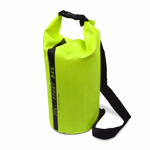 Dry Bag Waterproof, Dry Sack with Roll Top and Clip, Stuff Sack 10 Liter Capacity Perspective: front