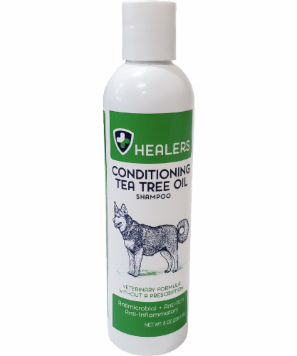 Healers Tea Tree Oil Conditioning Shampoo for Pets Perspective: front