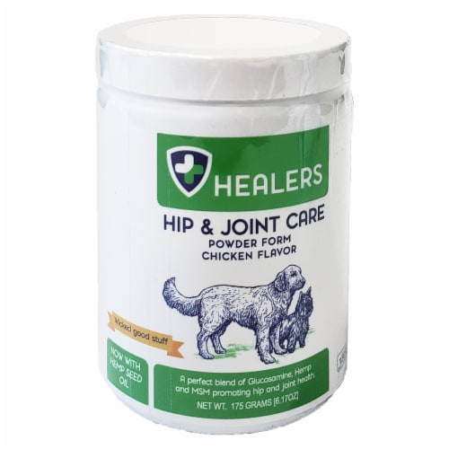 Healers Hip and Joint Care Powder Perspective: front
