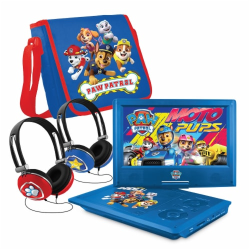 Core Innovations Paw Patrol Portable DVD Player Perspective: front