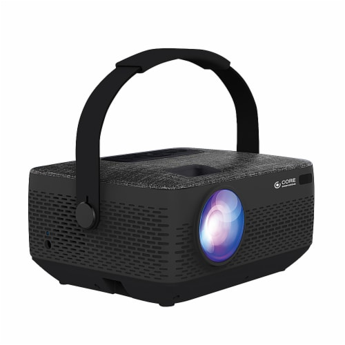 Core Innovations HD Portable Home Theater Projector Perspective: front
