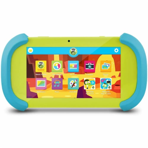 PBS Playtime Pad Kids Tablet Perspective: front