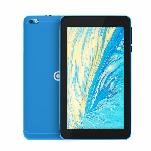Core Innovations Android 10 (Go Edition) Tablet - Blue Perspective: front