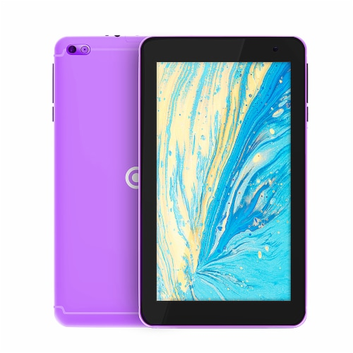 Core Innovations Android Tablet - Purple Perspective: front