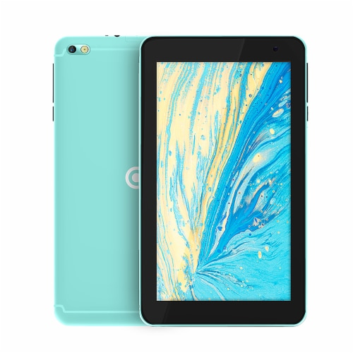 Core Innovations Android Tablet - Teal Perspective: front