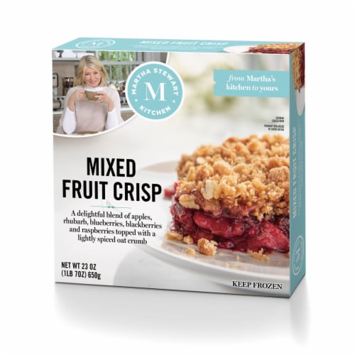 Martha Stewart Kitchen Mixed Fruit Crisp Perspective: front
