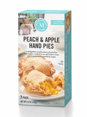 Martha Stewart Kitchen Peach & Apple Hand Pies Perspective: front