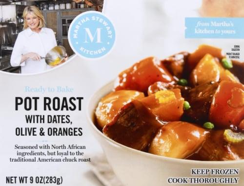 Martha Stewart Kitchen Pot Roast Frozen Meal Perspective: front