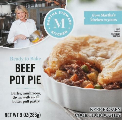 Martha Stewart Kitchen Beef Pot Pie Perspective: front