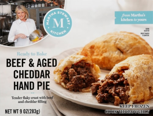 Martha Stewart Kitchen Beef & Aged Cheddar Hand Pies Perspective: front