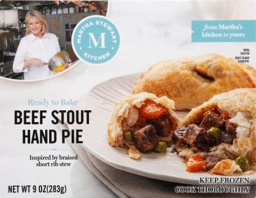 Martha Stewart Kitchen Beef Stout Hand Pies Perspective: front