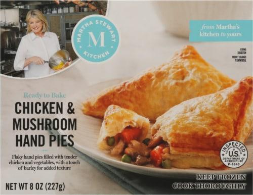 Martha Stewart Kitchen Chicken & Mushroom Hand Pies Perspective: front