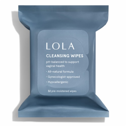 LOLA Cleansing Wipes Perspective: front