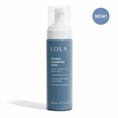 LOLA Vaginal Cleansing Wash Perspective: front