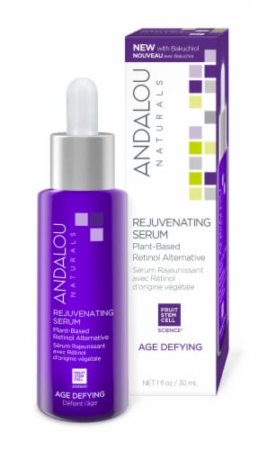Andalou Naturals Age Defying Rejuvenating Plant Based Serum Perspective: front