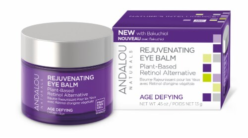 Andalou Naturals Age Defying Rejuvenating Plant Based Eye Balm Perspective: front