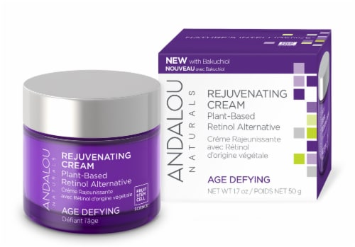 Andalou Naturals Age Defying Rejuvenating Plant Based Cream Perspective: front